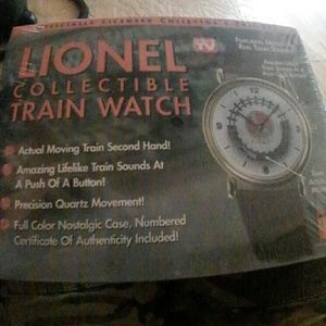 Lionel Accessories - Lionel Collectible Train Watch